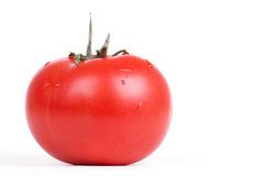 Freash tomato on white Stock Photography