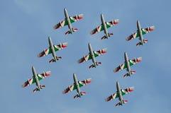 frecce ιταλικό tricolori Στοκ φωτογραφίες με δικαίωμα ελεύθερης χρήσης