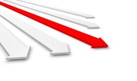 Frecce Fotografia Stock Libera da Diritti