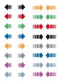 Frecce Fotografie Stock