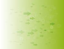 Frecce & cerchi Fotografie Stock