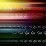 Frecce astratte Fotografie Stock