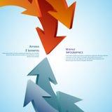 Frecce astratte dettagliato Immagini Stock Libere da Diritti