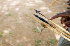 Frecce avvelenate Immagine Stock Libera da Diritti
