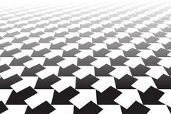 Frecce in bianco e nero sottragga la priorità bassa illustrazione vettoriale
