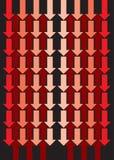 Frecce che vanno su e giù Immagini Stock Libere da Diritti