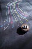 Frecce colorate curvilinee Immagini Stock Libere da Diritti