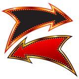 Frecce decorative Fotografie Stock Libere da Diritti