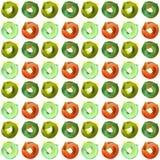 Frecce del cerchio di colore del modello Fotografie Stock