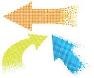 Frecce del mosaico Fotografia Stock