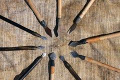 Frecce dell'arco Immagini Stock
