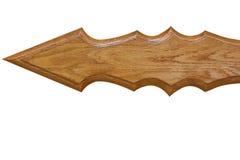 Frecce di legno per il contrassegno Immagini Stock Libere da Diritti
