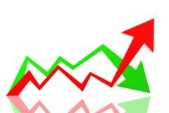 Frecce di successo illustrazione vettoriale