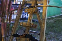 frecce ed arco Fotografia Stock Libera da Diritti