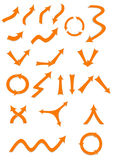Frecce impostate Immagini Stock Libere da Diritti