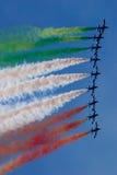 frecce loci tricolori obraz royalty free