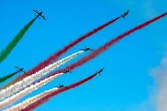 Frecce Tricolor Fotografia Stock Libera da Diritti