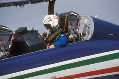 Frecce tricolore Royalty Free Stock Images