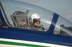 Frecce Tricolori - équipe acrobatique de l'Armée de l'Air italienne Image stock