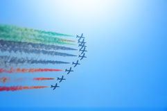 Frecce Tricolori Stock Photos