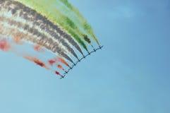 Frecce Tricolori Lizenzfreie Stockfotografie
