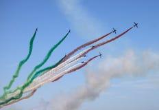 Frecce Tricolori Royalty Free Stock Images