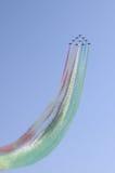 Frecce Tricolori Fotografia de Stock Royalty Free