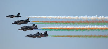 Frecce Tricolori Royalty Free Stock Photos