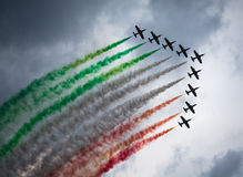 Frecce Tricolori Photos stock