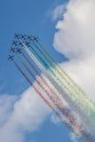 Frecce Tricolori Stockfotografie