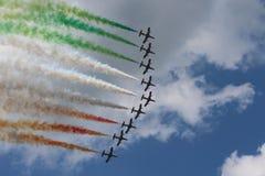 Free Frecce Tricolori Air Acrobatics Team Royalty Free Stock Image - 53413876