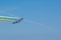 Frecce Tricolori Airshow Stock Photos
