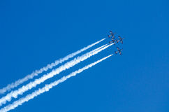 Frecce Tricolori Airshow Royalty Free Stock Photography