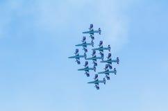 Frecce Tricolori  airshow Stock Image