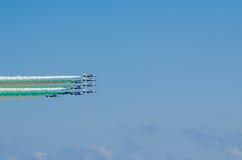 Frecce Tricolori Airshow Stock Photography