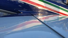 Frecce Tricolori on Display royalty free stock photo