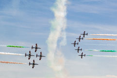 Frecce Tricolori Royalty Free Stock Photo
