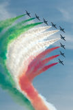 Frecce Tricolori Stock Image
