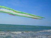 Frecce Tricolori Pisa 2017 Fotografia Stock Libera da Diritti