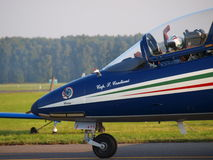 Frecce TriColori, Radom, Poland Stock Photography