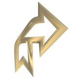Freccia royalty illustrazione gratis