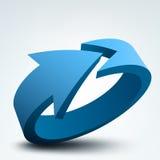freccia 3d Immagine Stock