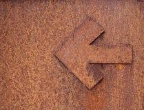 Freccia arrugginita Fotografia Stock Libera da Diritti