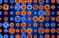 Freccia degli analizzatori di spettro circolari Fotografie Stock Libere da Diritti