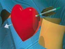 Freccia del Cupid royalty illustrazione gratis