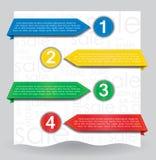 Freccia del lato di disegno di Web per il Web site Immagini Stock Libere da Diritti