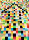 Freccia del mosaico Fotografie Stock Libere da Diritti