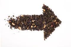 Freccia del tè Immagine Stock