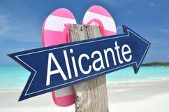 Freccia di Alicante Fotografia Stock