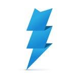 Freccia di carta di origami Fotografia Stock Libera da Diritti